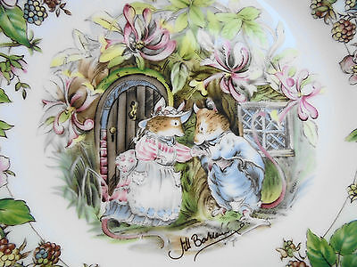 Royal Doulton Brambly Hedge Plate Summer Like New