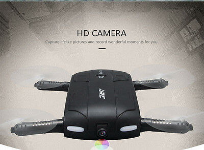 JRC H37 RC Quadcopter Altitude Hold w/ HD Camera WIFI FPV  Drone Selfie Foldable