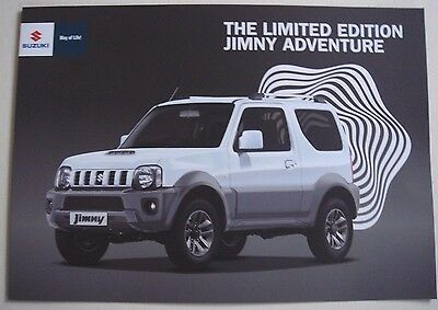 Suzuki . Jimny . The Limited Edition Jimny Adventure . 2016 Sales Brochure