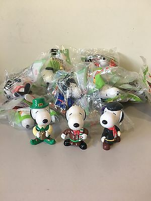 Snoopy World Tour 1999 McDonalds Toys