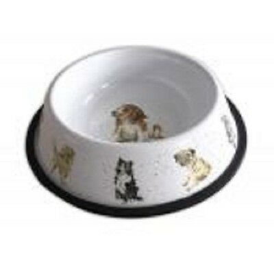 Wrendale Designs Country Set  Dog Bowl