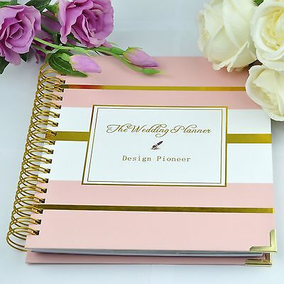 The Wedding Planner Wedding Guest Book Engagement Gift Set Keepsake Organizer