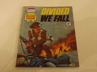 Valiant Picture Library Number 65!!,1966 Issue,good For Age,50 Years Old,v Rare.