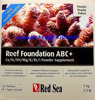 Red Sea Reef Foundation complete ABC 1kg  23,95€/kg