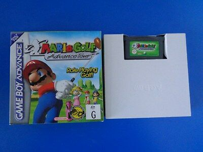 "Mario Golf : Advance Tour ""Boxed"" RARE - Nintendo Gameboy Advance VGC"