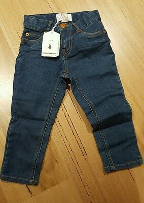 Boys Country Road blue denim jeans. Size 2. Brand new with tags. RRP $54.95