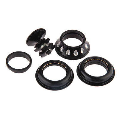 44MM Semi-Integrated Threadless with Cap Sealed Cartridge Bearing New Black