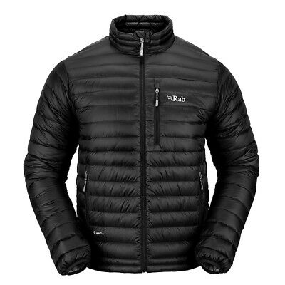 Rab Mens Microlight Jacket Black (Medium)