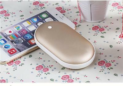 5200mAh Mini Multifuntion USB Charger Electric Hand Warmer Heater Rechargeable