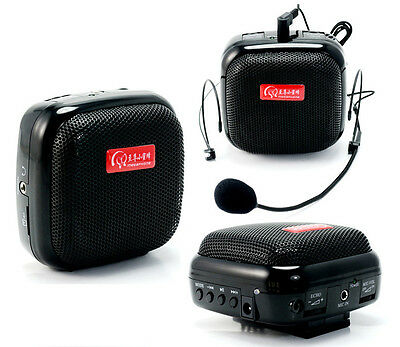 RB-809 25W Portable Mini Voice Amplifier PA Sound Booster Waistband Loudspeaker