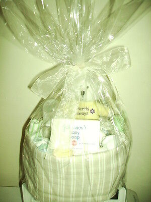 Nappy Cake - Unisex - 1 Tier - Ideal Baby Shower Gift!!! Can Also Post Interstat