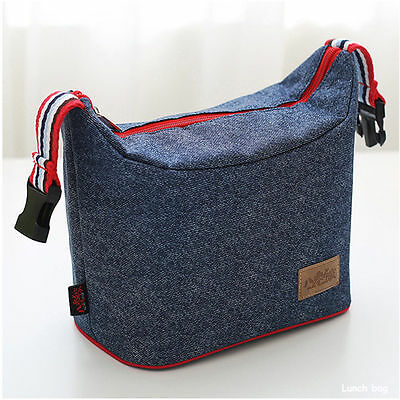 Picnic Outdoor Waterproof Thermal Cooler Insulated Lunch Box Portable Tote Bag