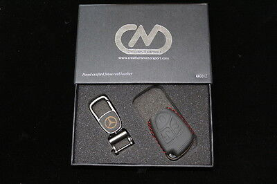 Mercedes Genuine Hand Made Leather Key Case Cover KR0012