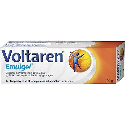 DJP NEW Voltaren Emulgel 20g Temporary Relief of Local Pain and Inflammation
