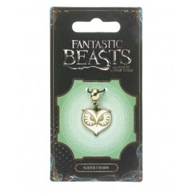 FANTASTIC BEASTS & Where to Find Them : OWL FACE SLIDER CHARM the Carat Shop