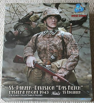 did action figure german niels 1/6 12'' boxed hot toy ww11 dragon