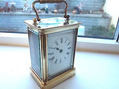 Antique Late 19Th  Century Carriage Clock
