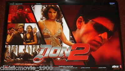 Don 2 Lobby 6 Cards Set Bollywood Shah Rukh Khan