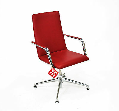 Brunner Finasoft Conference/Lounge Red Leather