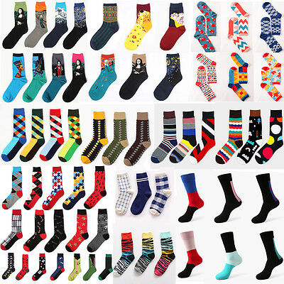 Men's Women's Socks New Casual Cotton Socks Design Multi-Color Fashion Socks New