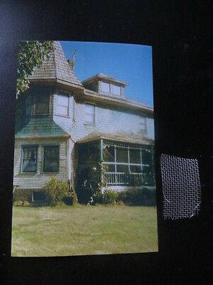 Authentic Stephen King Pet Semetary Set Photo And Relic Prop