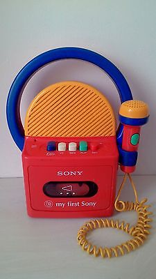 Vintage My First Sony Tape Recorder TCM-4300