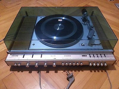 Rare Vintage LUXOR DIRIGENT 2 x 17G STEREO AMPLIFIER RECEIVER TURNTABLE, 1974