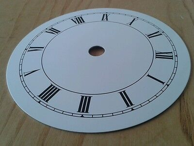 Clock Dial 110mm Roman Enam