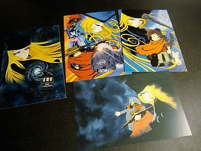 Japan anime Galaxy Express 999 Maetel Legend Postcard Book 8 cards