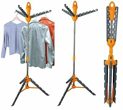 New Multi Function Free Standing Foldable Garment Clothes Dryer Hanger Rack