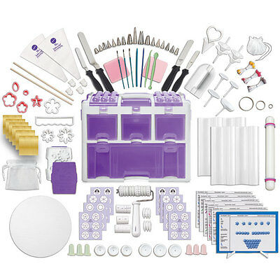 Wilton Ultimate Decorating Caddy and Tool Set 177pc Sugercraft & Cake Decorating