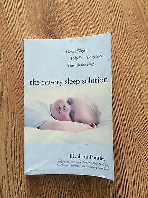 No Cry Sleep Solution By Elizabeth Pantley
