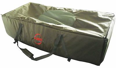 Green Carp Fishing Unhooking Soft Mat Cradle Safeguard Protection Foldable