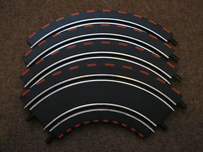 CARRERA GO 1:43 SCALE CURVED Track X 4 Pieces