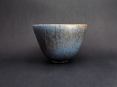 Gunnar Nylund Rorstrand Haresfur Bowl. Excellent.