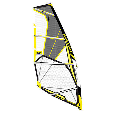 Naish Force Four 4.5m 2015 Windsurfing Sail Black / Yellow