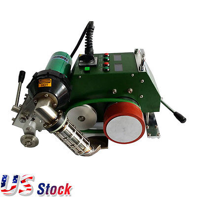 US Stock-AC110V High Speed Hot Air Banner Welder with 30mm Welding Width NEW