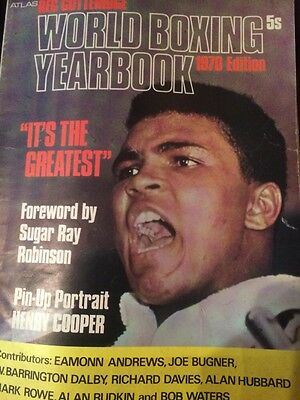 Xmas Gift Collectable Boxing Yearbook 1970 Good Condition