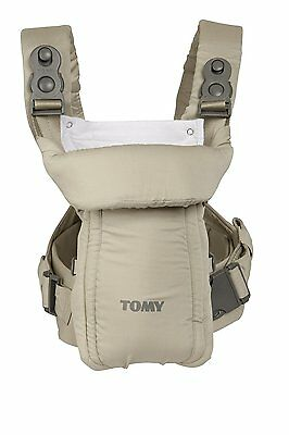 Tomy Freestyle Classic Baby Carrier Lumbar Support Harness Padding Beige T1760A1