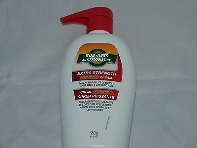 RUB A535 Extra Strength Heating Cream 350gr- Large Size NEW