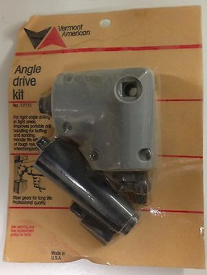 Vermont American Angle Drive Kit for right angle drilling in tight areas 17171