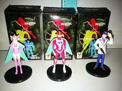 Robot Polymar Figure Lotto Di 3 Personaggi Gashapon Tatsunoko 40Th Anniversary