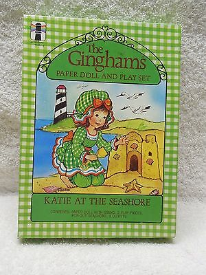 """The Gingham's Paper Doll & Playset """"Katie At The Seashore"""""""