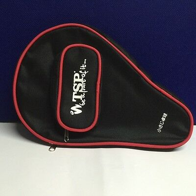 Tsp 'Be A Part Of It' Table Tennis Bat Case With Ball Pocket
