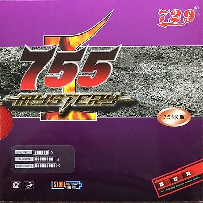 729 755 Mystery Table Tennis Rubber