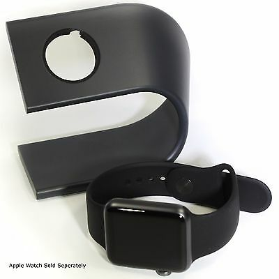 Charging Stand for 42mm Apple Watch Nomad Style Machined Aluminum Space Grey