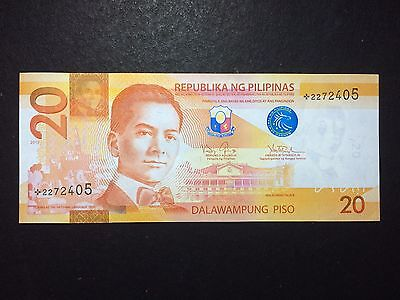 Philippines 20 Pesos NGC 2013 Replacement/Star Note - UNC