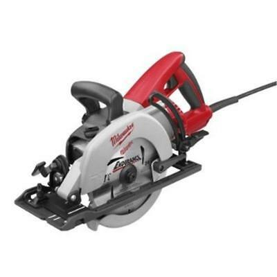 "Milwaukee 6477-20 7-1/4"" 15 Amp Worm Drive Circular Saw with Standard Plug"