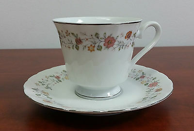 Sheffield Bouquet Fine China Japan SET TEA CUP AND SAUCER