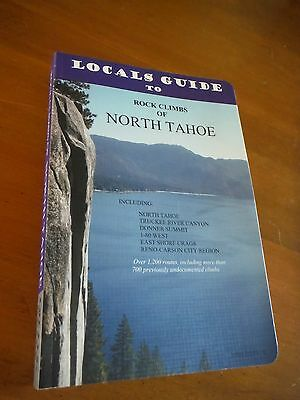 Rock Climbs of North Tahoe by John Jackson (2011, Paperback)